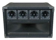MCM 555-10350 Mid / High Frequency Cabinet with Midrange Horn and Piezo Tweeters