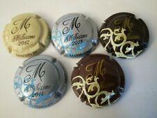 capsule de champagne MATHELIN Millésime 2012-2013-2014 côte 20€