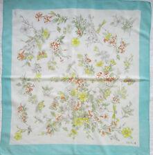 -Superbe Foulard VALENTINO  100% soie  TBEG  vintage scarf