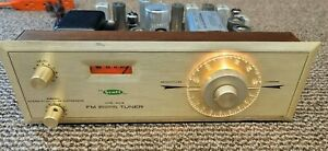 H.H. Scott Broadcast Monitor FM Tube Tuner Type 310-B 310B Copper Vintage