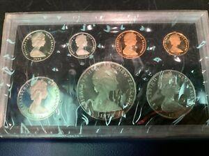 1976 New Zealand 7 coin Proof --Original Box
