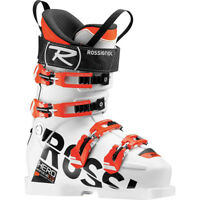 2017 Rossignol Hero WC SI 110 SC White 27.5 Junior Ski Boots