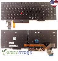 New Backlit Keyboard for Lenovo ThinkPad E580 E585 L580 P52 01YP680 SN20P34095