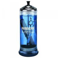 BARBICIDE LARGE 1 LITRE DISINFECTING JAR 100% GENUINE (SAMEDAY DISPATCH)