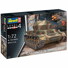 "Revell Flakpanzer IV Wirbelwind"""" 2 cm 1:72 Tanque Kit Modelo 03267"