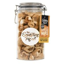 Snaffling Pig 300G Pork Crackling in 1.5L Gifting Gift Jar (Maple)