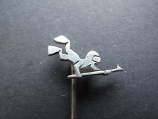 Lapel Pin Divers in Silver