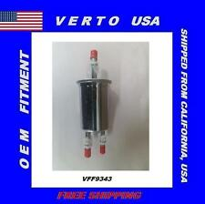 Verto USA Fuel Filter-In-line With Tide on Clips.  VFF9343