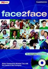 face2face Pre-intermediate Network CD-ROM, Tims, Nicholas, Greenwood, Alison, Ex
