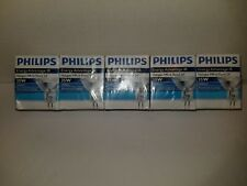 PHILIPS HALOGEN MR16 Spot 8 degree 35W 5000HRS 12V GU5.3 BASE - Lot of 5