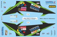 DECALS 1/43 SUBARU IMPREZA WRC - #2 - PRINCEN - RALLYE DU CONDROZ 2013 - D43419