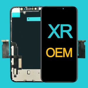 Genuine REFURBISH Original Screen Assembly+Back Plate Replacement for iPhone XR