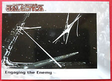 BATTLESTAR GALACTICA - Premiere Edition - Card #61 - Engaging the Enemy
