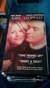 Kate & Leopold 2002 VHS Meg Ryan Hugh Jackman romanic comedy sci-fi time travel