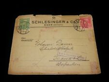 Vintage Cover,EGER,AUSTRIA,BOHEMIA,1916,Multi-Stamped To Upper Franconia,Germany