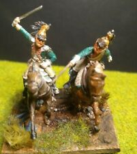 Napoleonic French Painted Soldiers dragoons 1/72