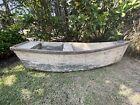 Very Rare, Antique Handmade Wood Child's Boat
