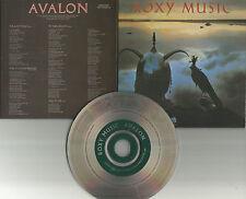 Bryan Ferry ROXY MUSIC Avalon REMASTERED MINI LP SLEEVE Europe CD USA Seller