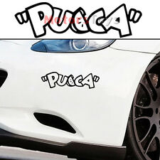 1PC JDM Cartoon Pucca Racing Drift Hellaflush Vinyl Motorcycle Car Sticker Decal