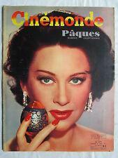 CINEMONDE 1077 (1953) MARTINE CAROL NAPOLEON SACHA GUITRY HITCHCOCK