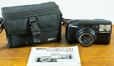 Mint Nikon Zoom Touch 800 AF, 35mm Film Camera 37-105mm ED Glass, Read, Tested!
