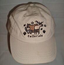 Telluride Colorado Wildlife Youth Baseball Cap Khaki