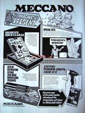 1971 MECCANO Advert Range of Sets (from 19/11d to £79.5s.0d) - Vintage Print Ad