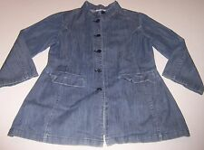 CATIMINI ATELIER~Jean Loose-cuff Long Jacket~GIRLS SIZE 8 A/128