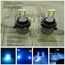 9007 HB5 8000K Super bright ice blue Cree LED Headlight Bulbs kit High Low Beam