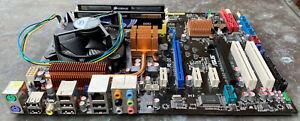 Asus P5Q Pro Motherboard Intel Q9400 4GB RAM IO/Shield