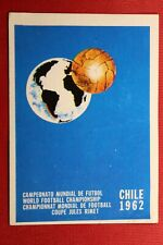 PANINI MEXICO 86 WORLD CUP ALBUM 1962 # 10 WITH ORIGINAL BACK!!