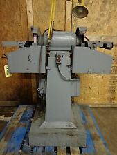 General Electric Pedestal Dual Grinder Gusher Coolant Pump