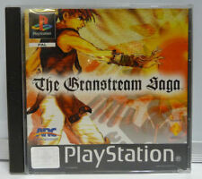 THE GRANSTREAM SAGA - SONY PS1 PAL PLAYSTATION FIRST PRINT USED