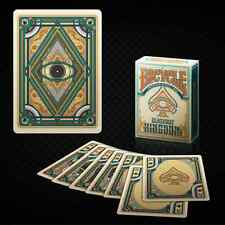 Blackout Kingdom Bicycle Deck Light Shade Playing Cards By Gamblers Magic Tricks