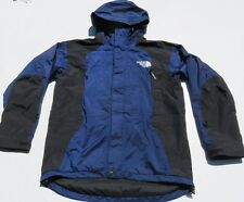 VTG Mens NORTH FACE Mountain Guide Blue GORETEX Hooded Vented Jacket Medium