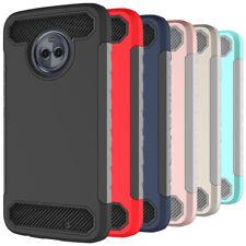 Shockproof Protective Shell Back Hard Case For Motorola Moto G5 G6 E5 E4 Plus
