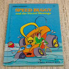 1976 Hanna-Barbera's Speed Buggy and the Secret Message Book