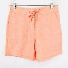 LL Bean Womens Classic Fit Linen Shorts Size 10 NWOT $44.99