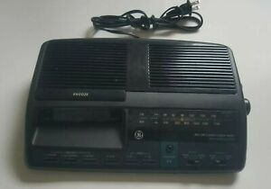 Vintage General Electric AM/FM Stereo Alarm Clock Radio 7-4664A System, Tested