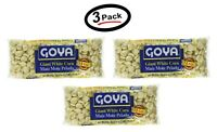 3 Goya Giant White Corn | Maiz Mote Pela 14 Oz (Pack of 3) - New - Free Shipping