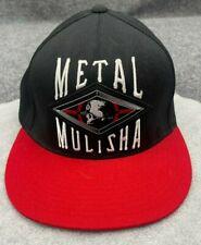 S-M Metal Mulisha Skull Fitted Flex Stretch Mens Cap hat Racing Riding Moto