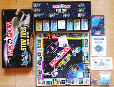 2000 MONOPOLY STAR TREK LIMITED EDITION NUMBERED W/ CERTIFICATE OF AUTHENTICITY