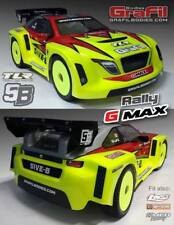 """LOSI TLR 5B body """"Rally G-MAX"""" 1:5  + """"Alloy mounting towers"""" kit !!!"""