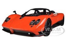 PAGANI ZONDA F ORANGE 1/18 DIECAST CAR MODEL BY MOTORMAX 79159