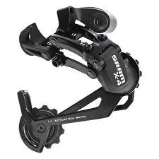 SRAM X4 Bike Bicycle Rear Derailleur 7/8-Speed Long Cage Black