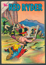 RED RYDER # 8O SPANISH MEXICAN COMIC NOVARO COVER BY FRED HARMAN