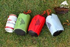 3F UL Gear Ultralight Mini Silnylon waterproof backpacking tarp GRAY 6.8 oz
