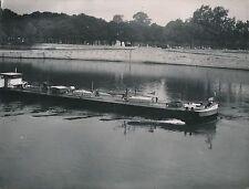 BATEAU 1948 - Fleuve  Péniche  Pétro France - Div 10599