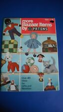PATONS More Bazaar items 40+ Designs Knitting Pattern Book 150