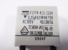 5x 0,15uF 150nF 300Vac Dejam Capacitor MKT-X2 vishay #11F41